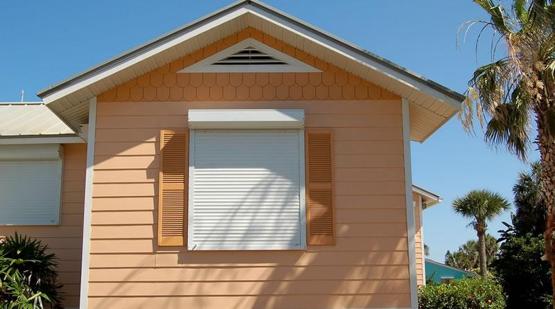 Aluminum Window Shutter Installations Miami Florida.